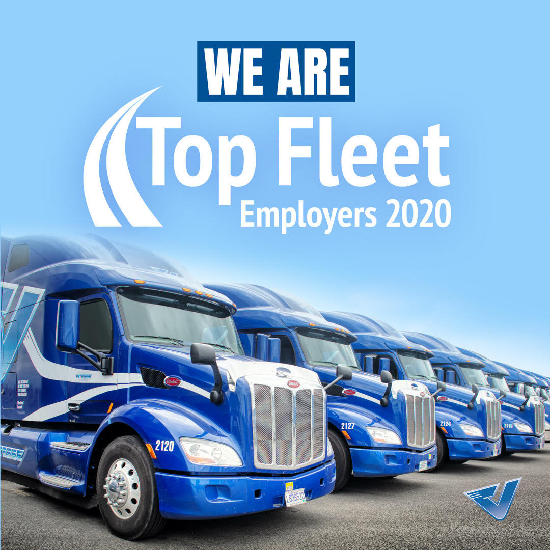 We Are a Top Fleet Employer